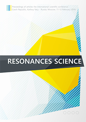konferenční materiály: Resonances science